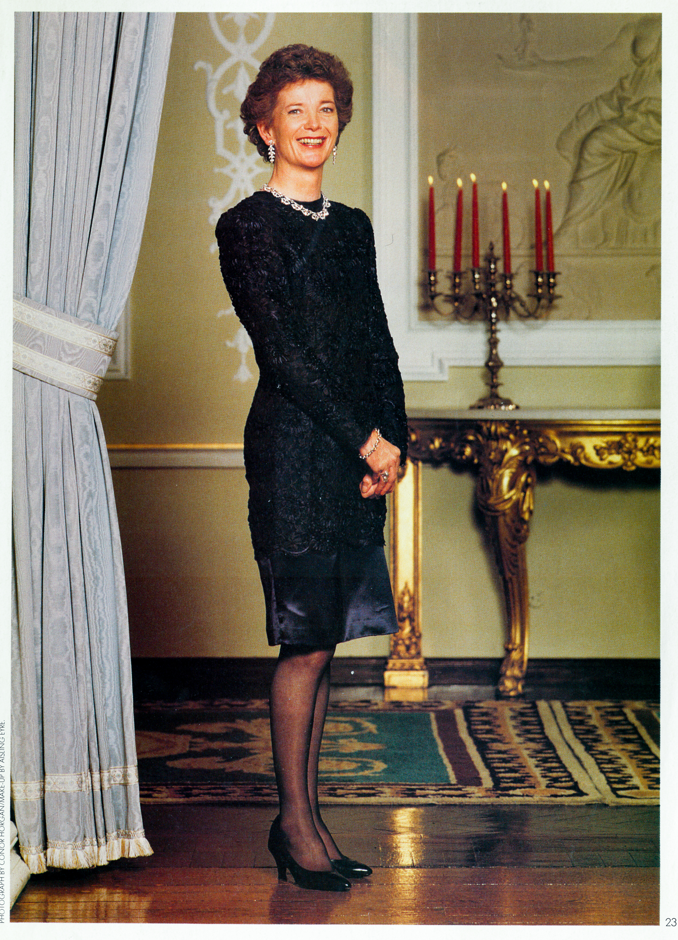 President Mary Robinson for Image Magazine.