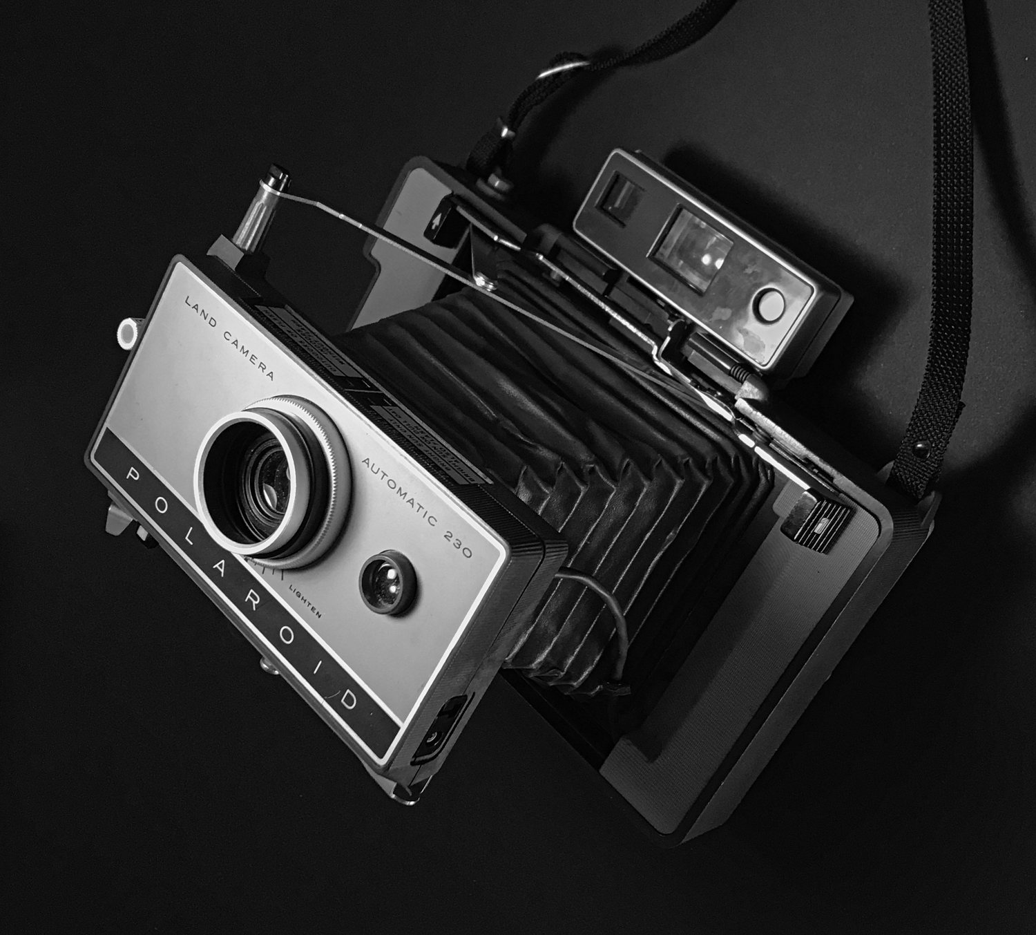 My first ever camera was a Polaroid, but it wasn't as fancy as this.