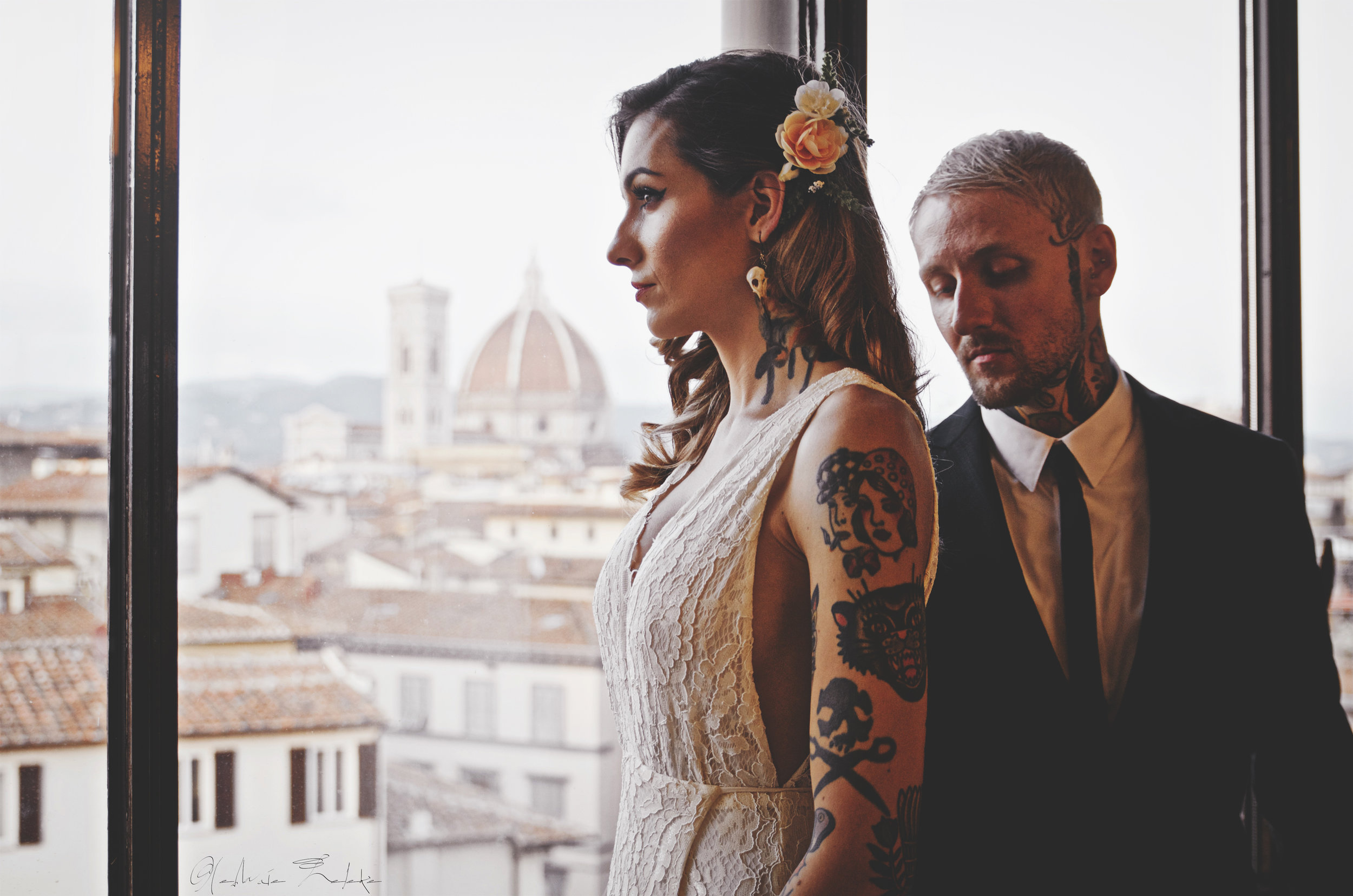cassidy & Ryan :: florence  wedding
