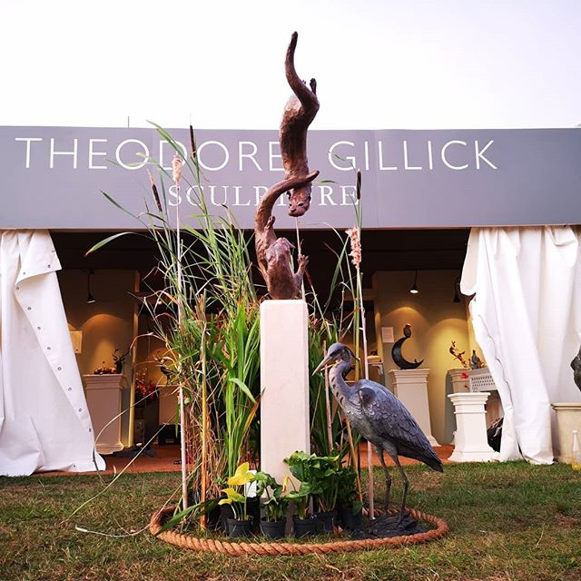 The doors about to open on our exhibition at The Game Fair 2019, Hatfield House, Hertfordshire. Come and say hello - it's been a long time since we were here - collect some fine sculpture, share a glass. . . . . . #sculpturedesign #modernartcollector #artrooms #bronzeart #sculpturelovers #contemporaryartdaily #artcollect #outdoorsculpture #artworker #instasculpture #contemporaryfineart #artists_insta #arthub #wildlifeart #gardenart #sculptor #sculpture #artist #inspirational #artistexhibition #exhibition #gallery #popup #gamefair #hatfieldhouse #exhibition #thegamefair
