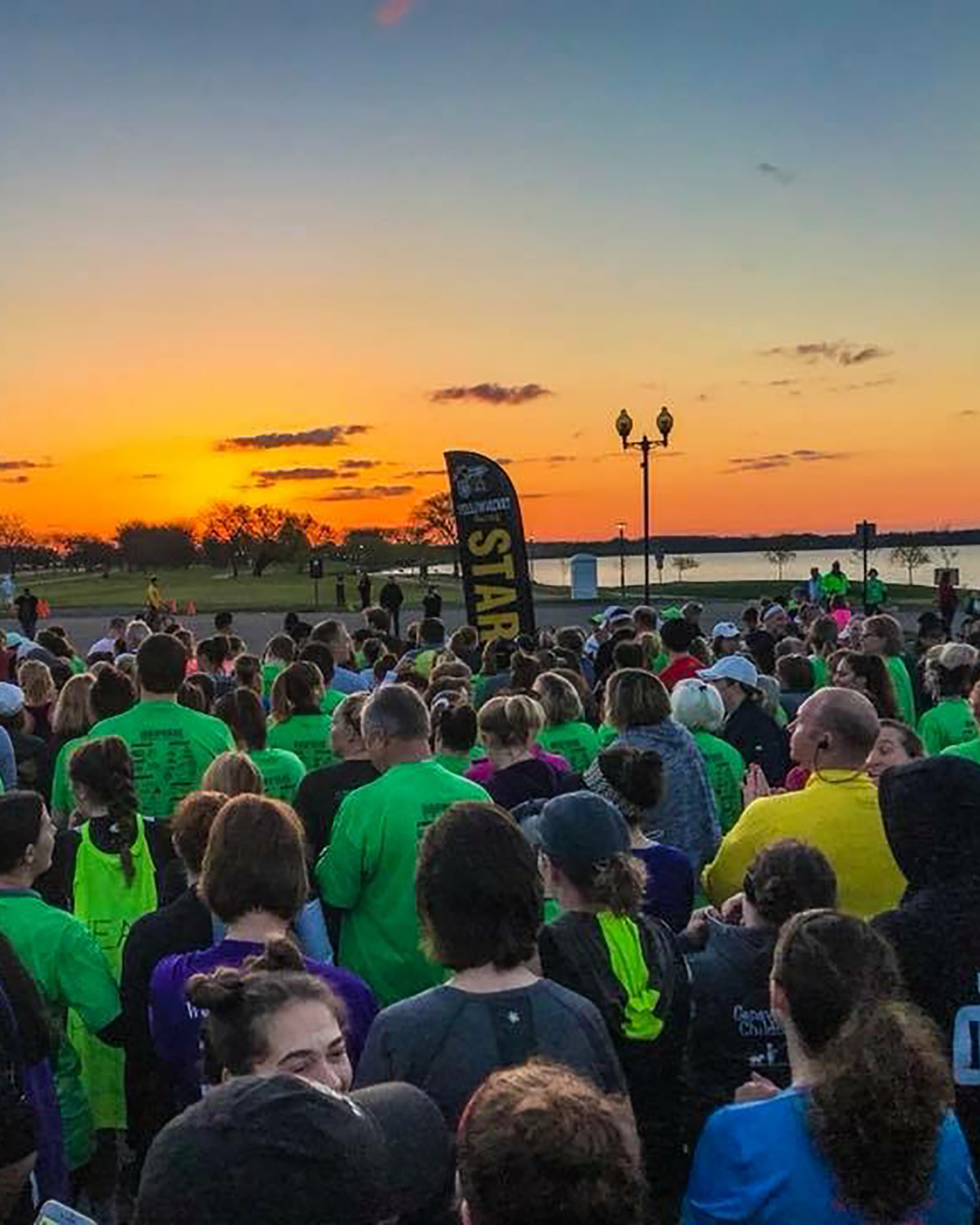 Middle Finger 5K - Have you been impacted by cancer? Do you want to give cancer the finger? Every sunrise gives us one more day of hope. Join us for a unique start to your day and help us help those in treatment for cancer Thrive. Open to all fitness levels.Come Run With Us!
