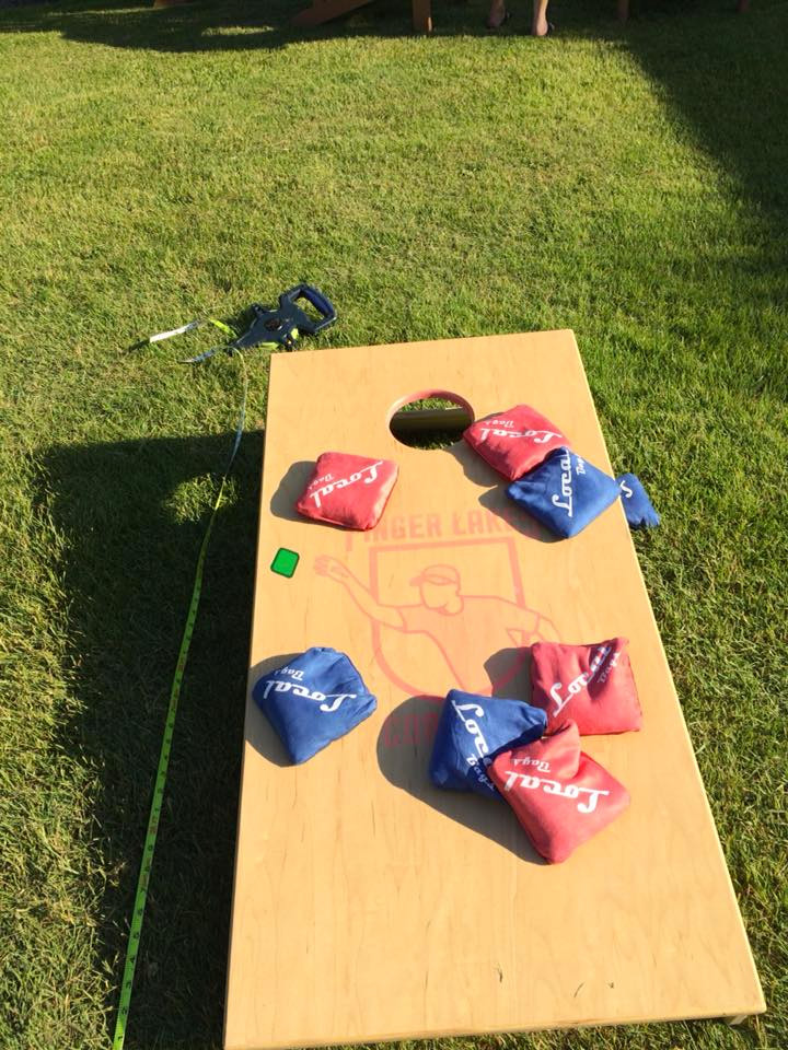 Cornhole Tournament - Finger Lakes Cornhole will be hosting a Cornhole tournament. To participate in the tournament and have an opportunity to take home a cash prize, you need to register with Brian at Finger Lakes Cornhole.If you are interested in playing for fun, we will have boards available and free to use during the event.