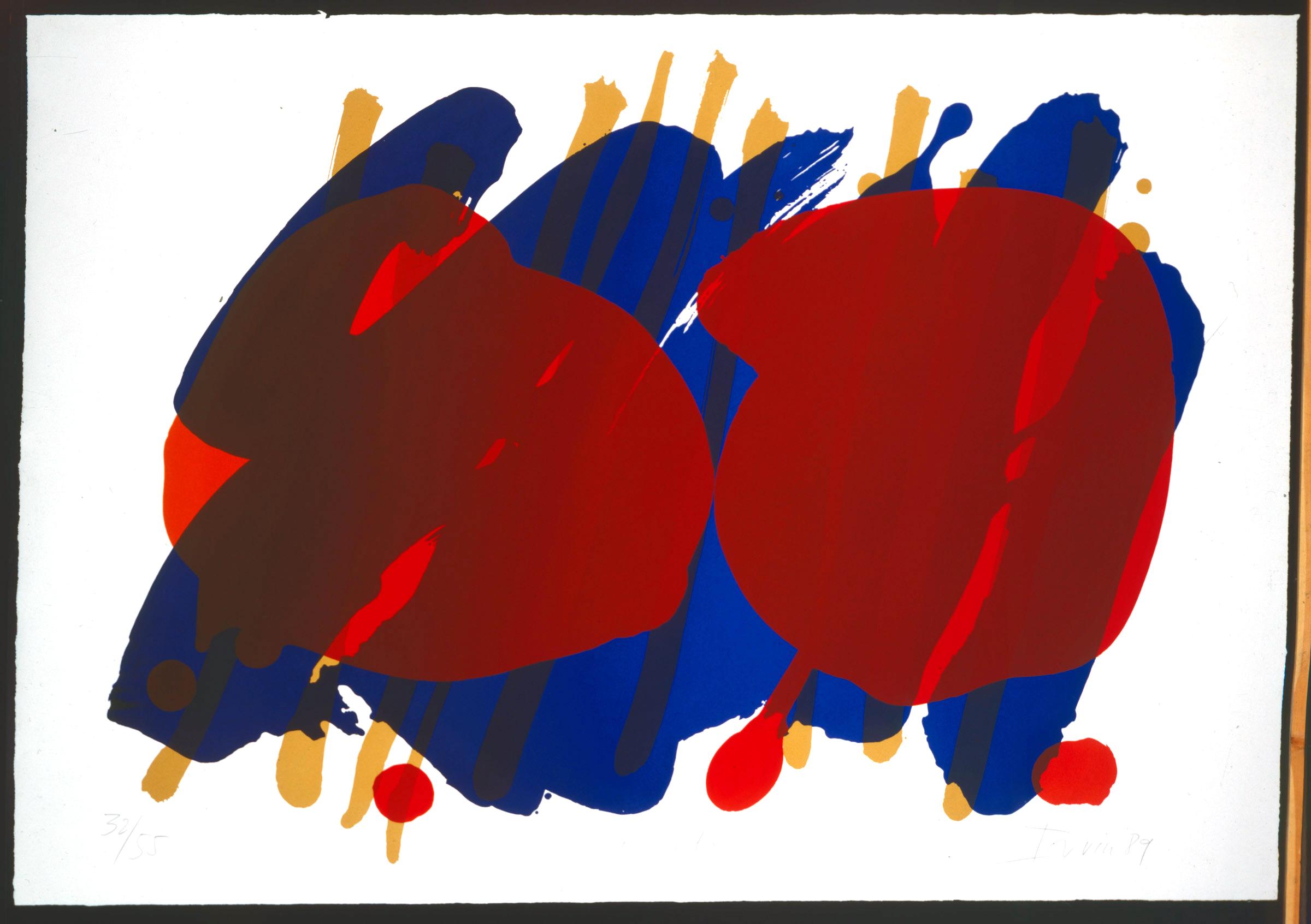 Creekside 1989 Screenprint Edition 55, 50 x 71in, 127 x 180cm.jpg