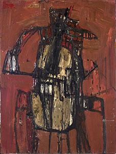 Cellist, 1955