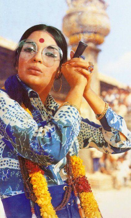 Zeenat Aman, c. 1971