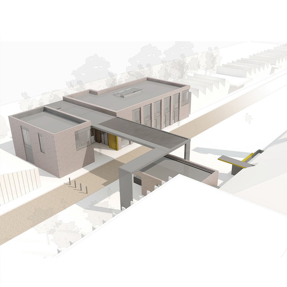 AUB Student Services. Bournemouth Arts University. - Project Value £22,000 Credit - Design Engine Architects