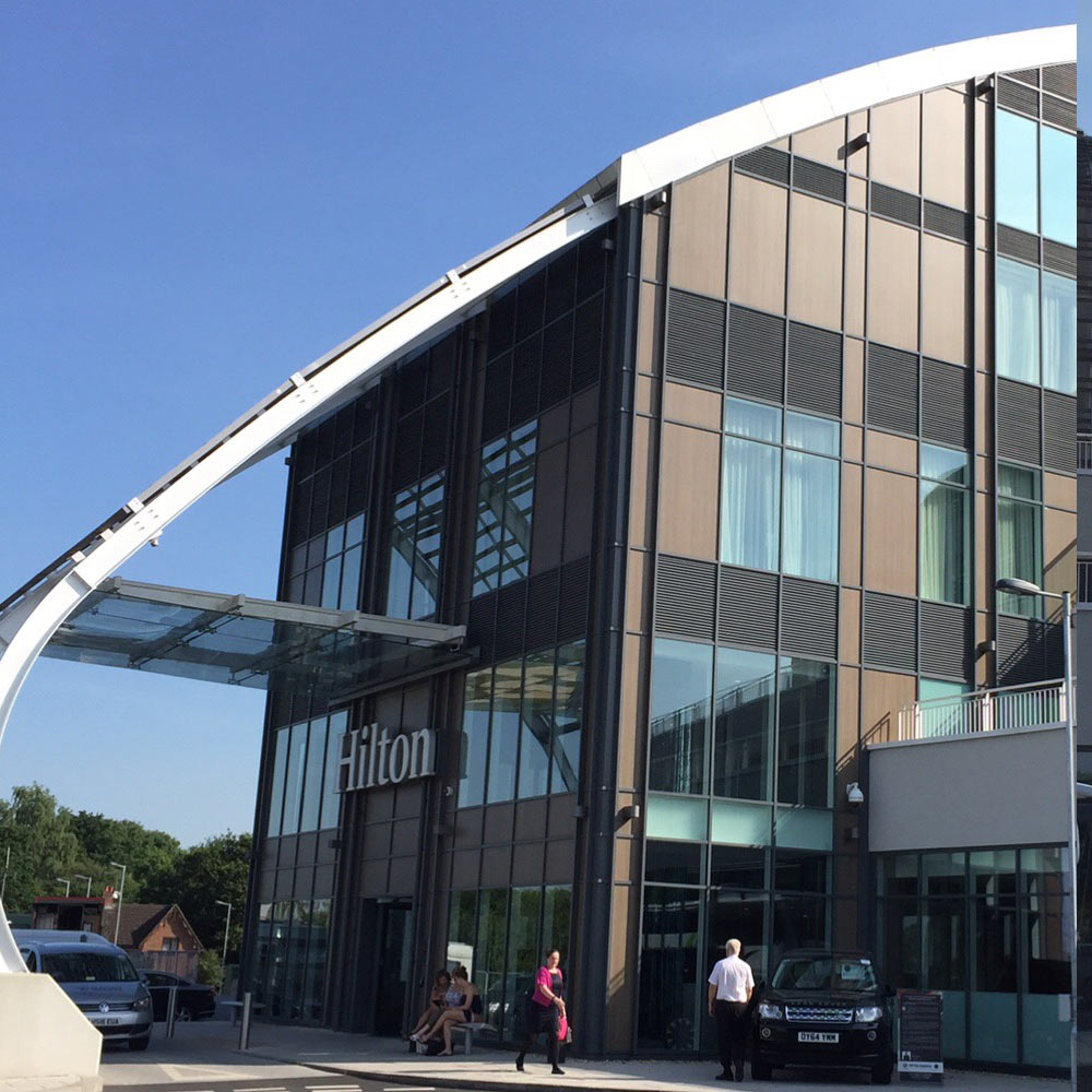 Hilton Hotel Ageas Bowl, Southampton. - Project Value £50,000