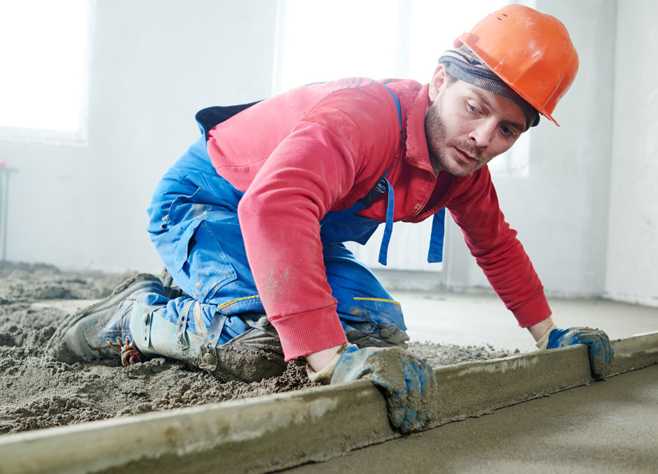 Traditional Screeding - Learn how we delivery and install traditional screed systems