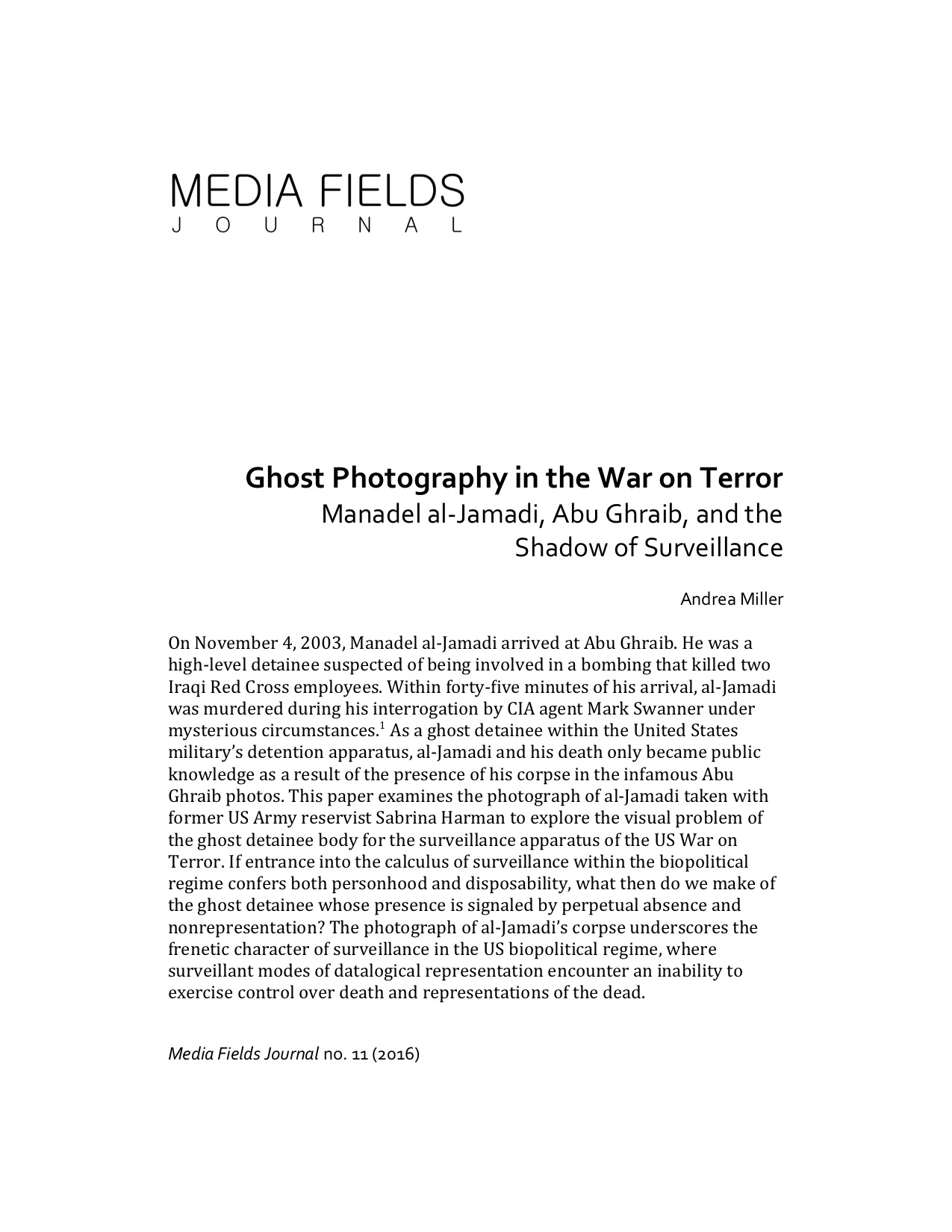 Miller, Andrea. Ghost Photography in the War on Terror.jpg