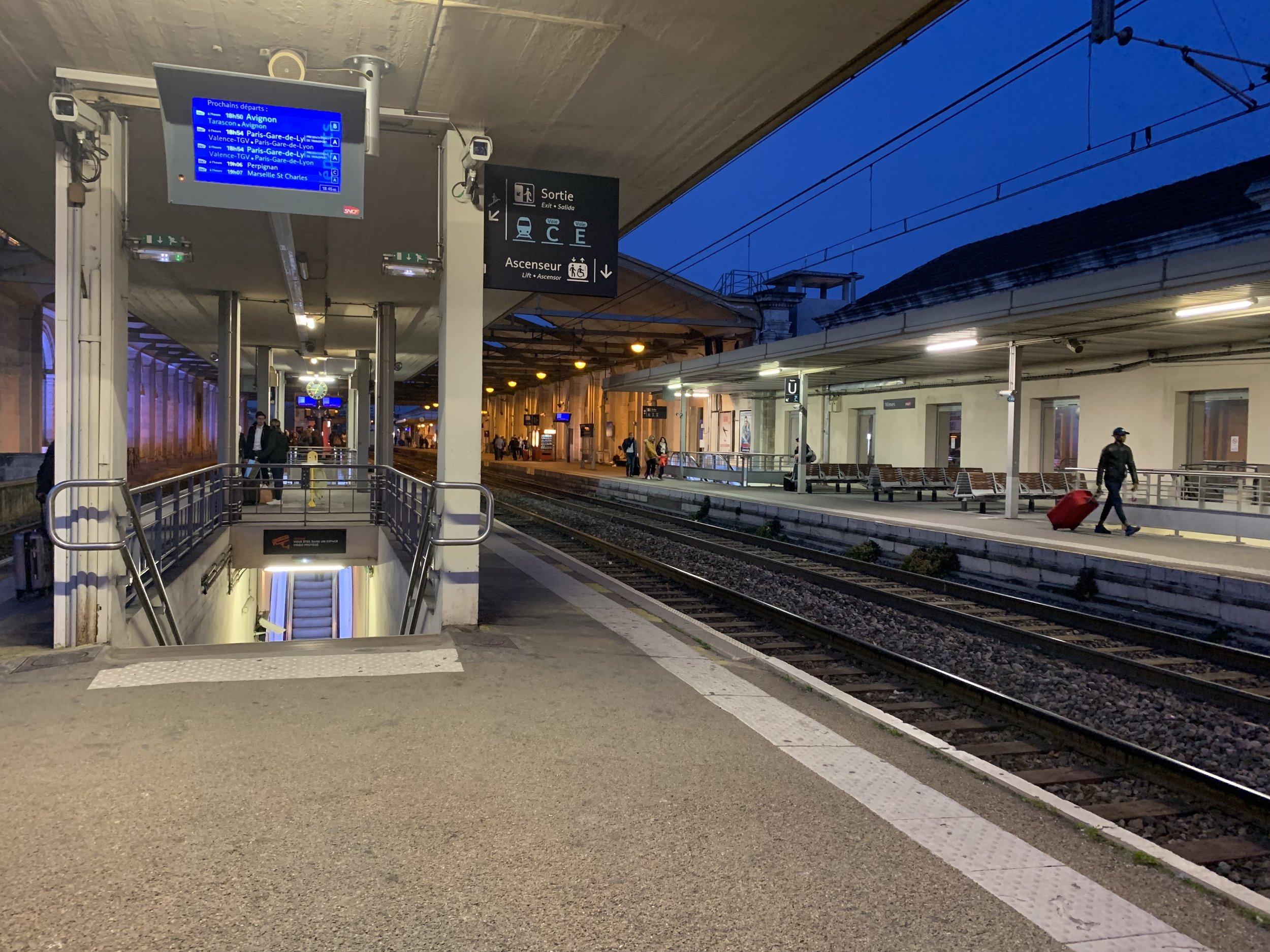 Gare SNCF Nimes