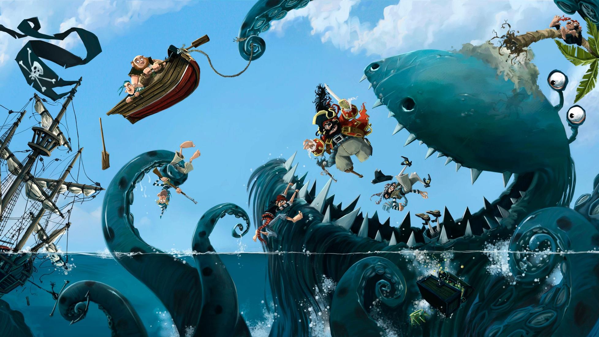 The Pirate Cruncher - FAMILY, THEATRE, MUSIC