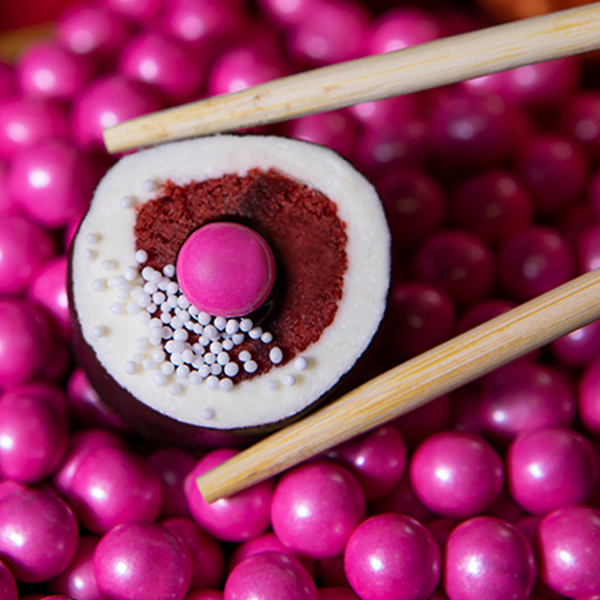 Red Velvet - Red Velvet Cake, Chocolate Ganache, Rolled in Cream Cheese Frosting