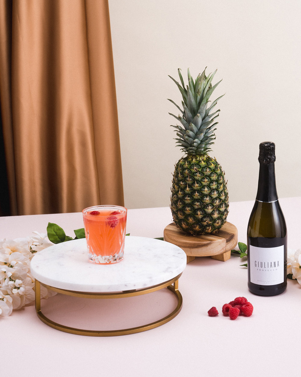 Prepare for your holiday toast with this Sparkling Punch! Fresh fruit flavors combine with #GiulianaProsecco for a little tropical retreat from cold winter weather.