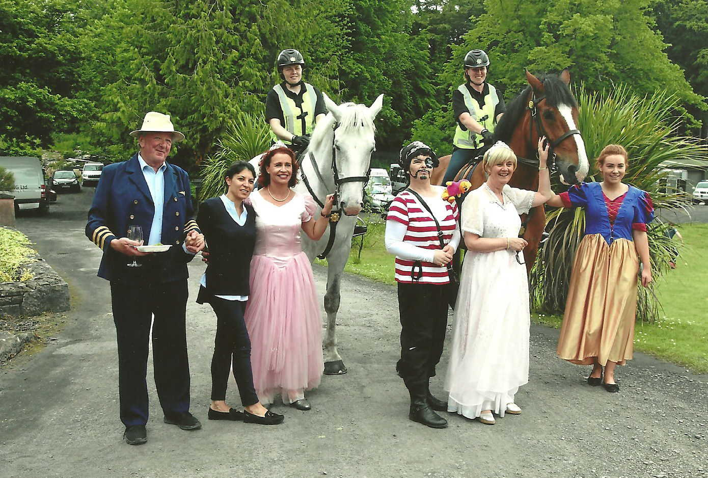 Arrrah !! Pirates and Ponies at our Children's Party in Belleek.
