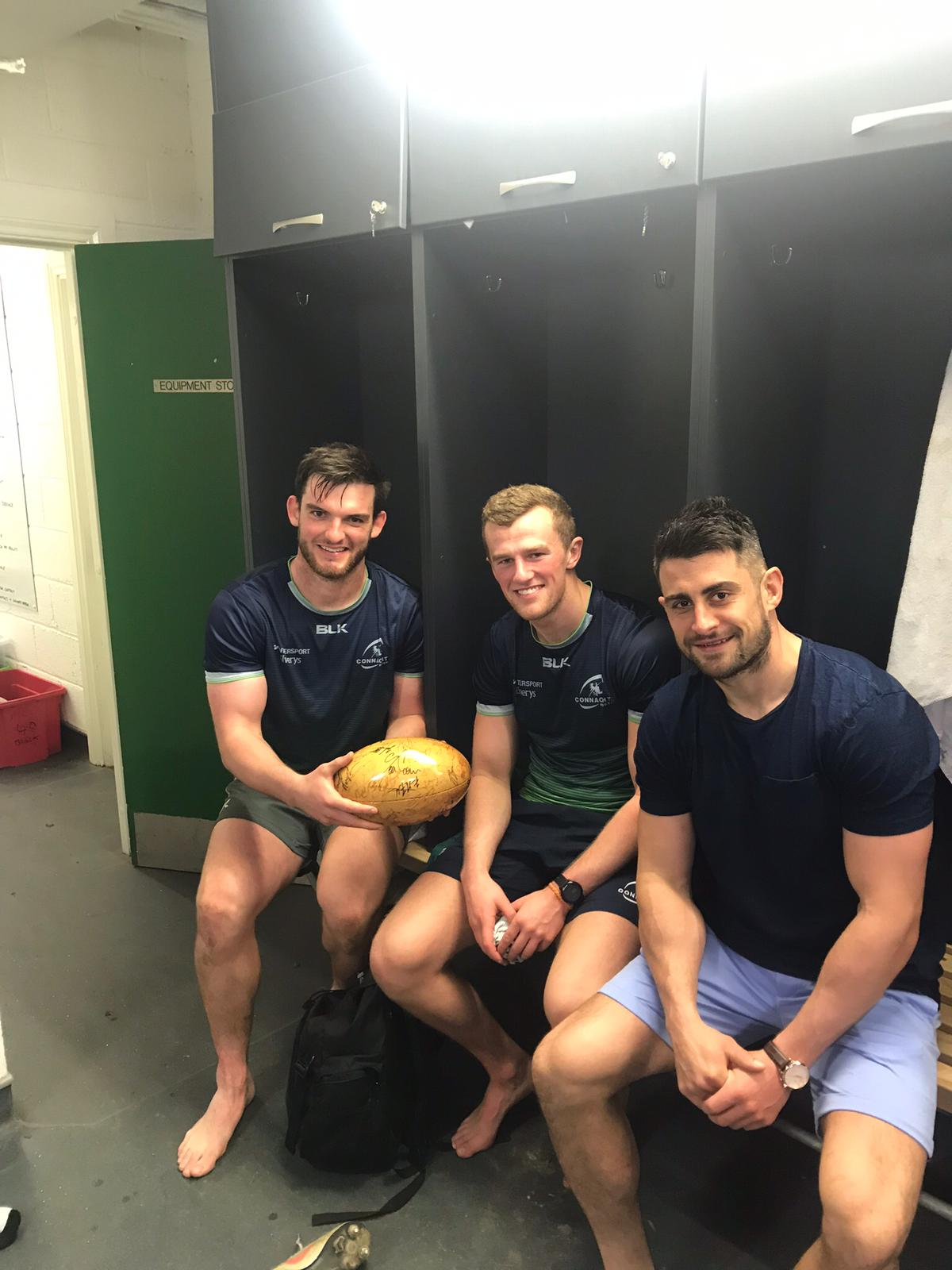 Tom Daly and Stephen Fitzgerald, Connacht and Tiernan O'Halloran