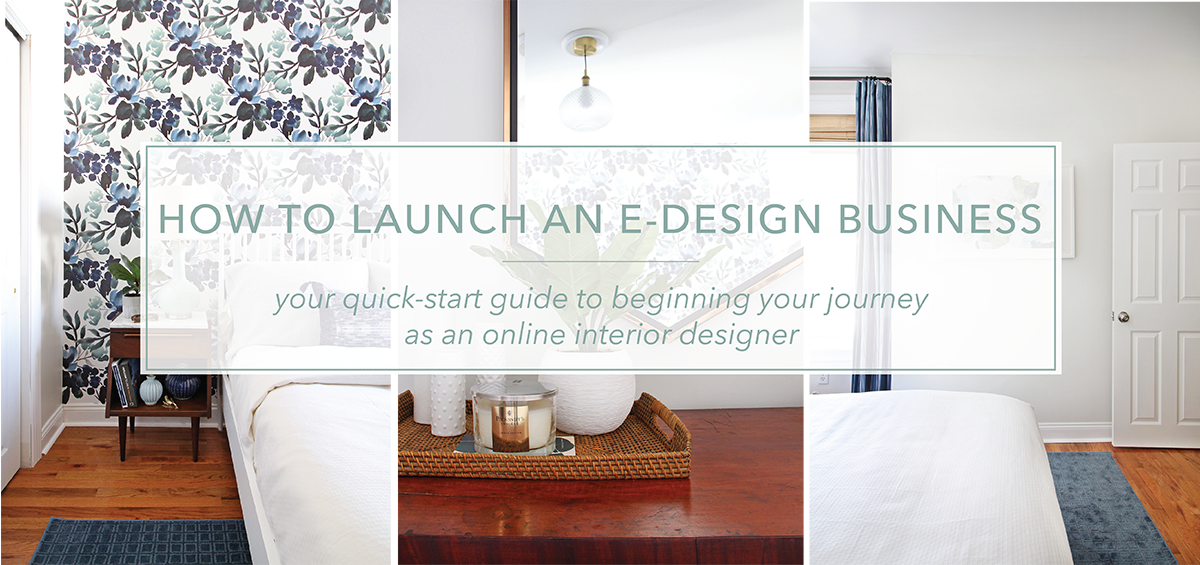 How To Launch An E-Design Business - The Online Course. This course show you how to start your own online interior design business from the ground up. It will provide an amazing foundation for you to get your virtual interior design business up and running quickly so you can start working with your ideal clients.