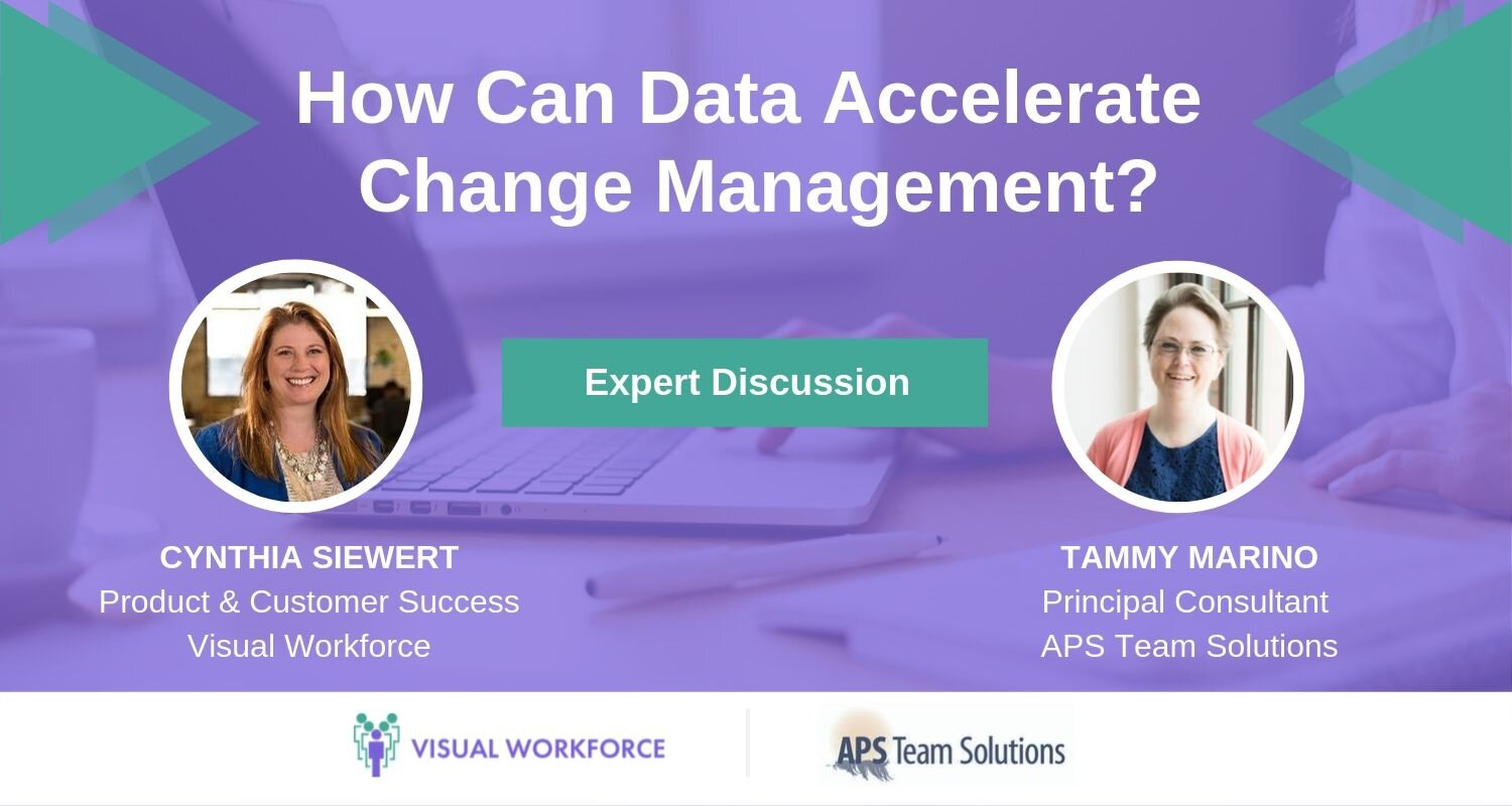 How Can Data Accelerate Change Management? Expert Discussion