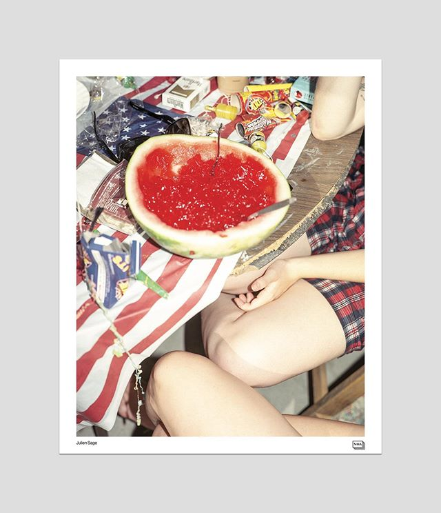 """Julien Sage. 19""""x23.25"""". Offset printed on heavy coated paper."""