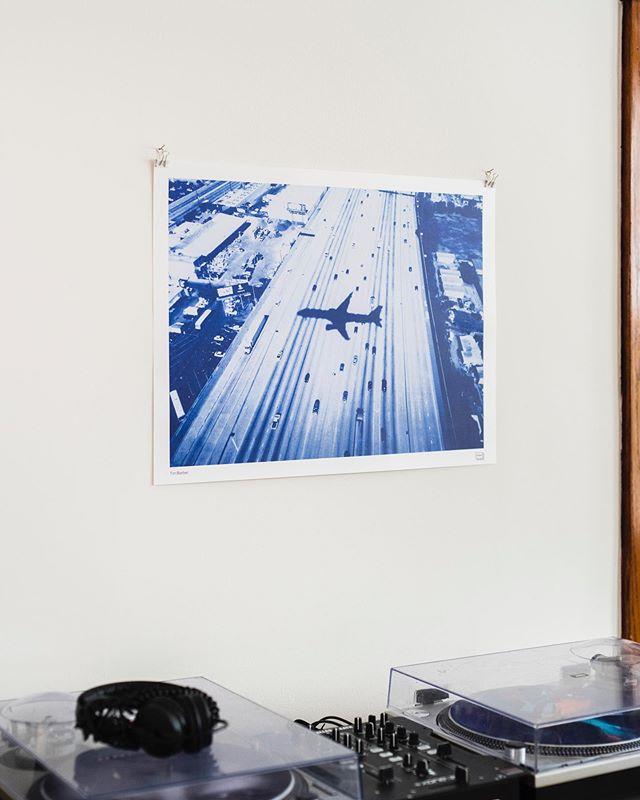 "Install- Tim Barber poster. 19""x25"""