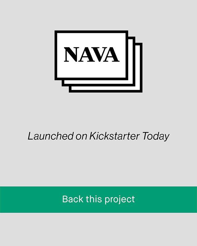 Pre-Order Nava Posters on Kickstarter. Link in Bio 💕
