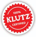 100% Klutz Certified