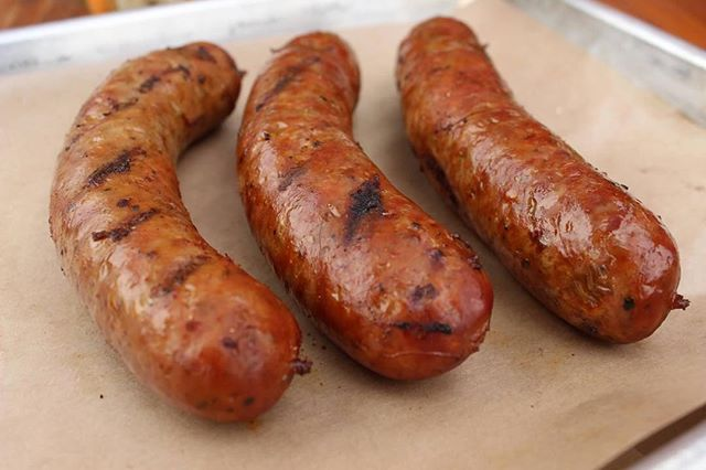 Our smoked links are perfect as appetizers or add a side and make it a meal. Choose your own adventure 😉