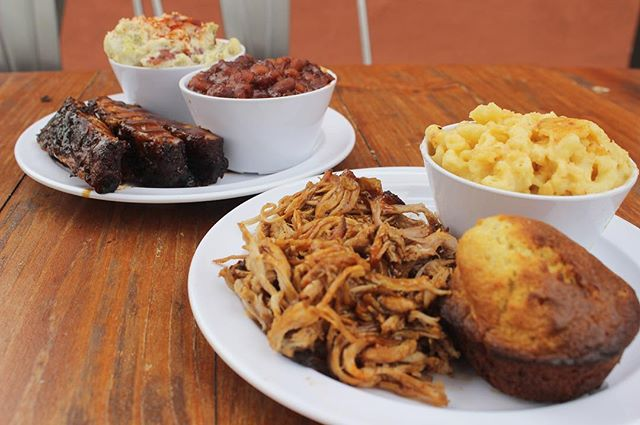 """Don't have Valentine's Day plans yet? Treat your sweetheart to BBQ, they'll be happy you did! Our """"I Love You As Much As BBQl"""" special is available 2/14 - 2/17 for dine-in or take-out.  Our special includes two half lb. meats of your choice, two regular sides, two cornbread muffins and one dessert to share, all for $37! No better way to say """"I Love You"""" than with BBQ. ❤️"""