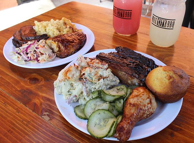 """We're ONE week away from Valentine's Day and we know what your sweetheart will love... BBQ! Our """"I Love You As Much As BBQ"""" special will be available 2/14-2/17, dine-in and take-out.  Our special includes two half lb. meats of your choice, two regular sides, two cornbread muffins and one dessert to share, all for $37! No better way to say """"I Love You"""" than with BBQ. ❤️"""