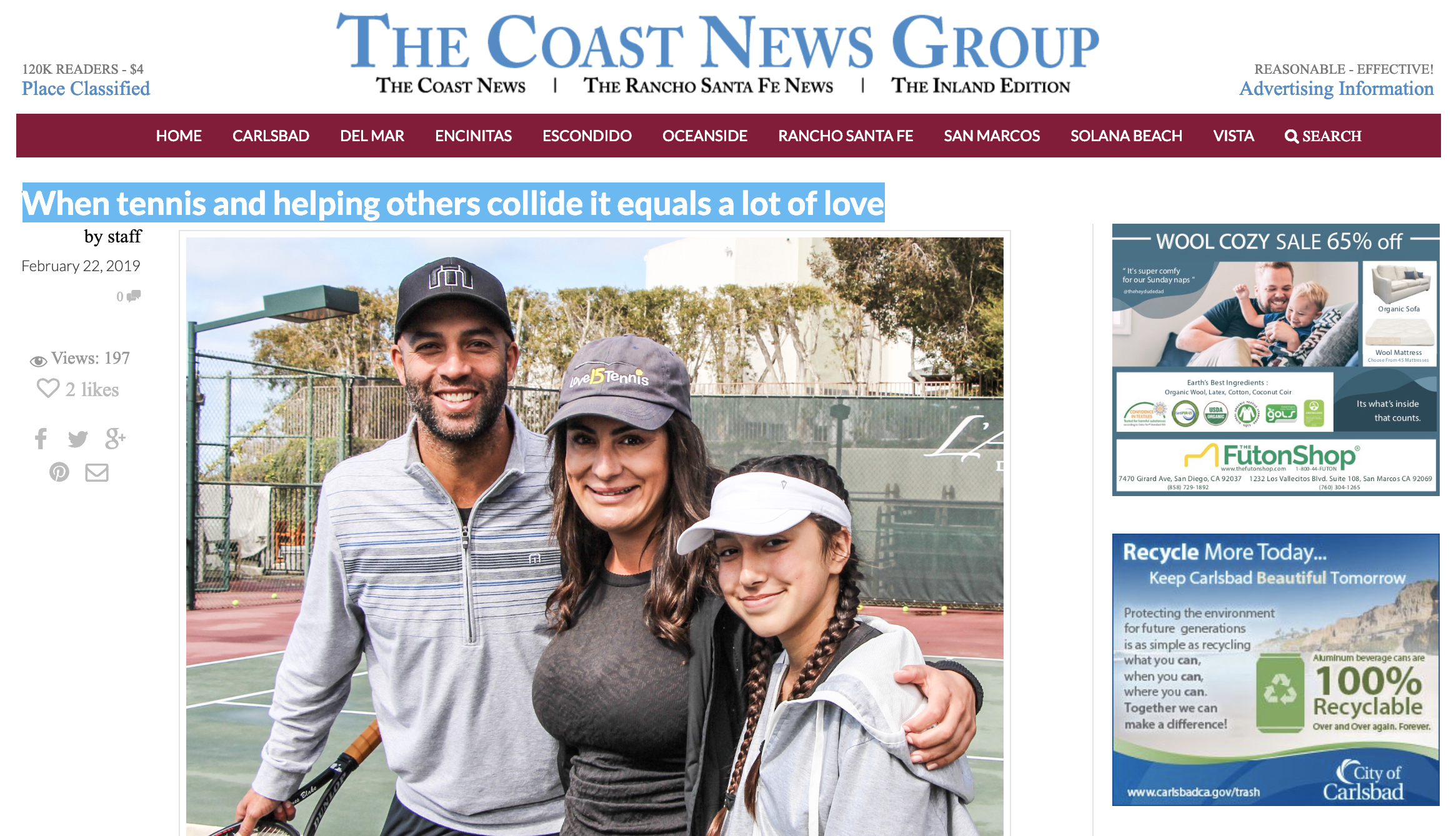 The Coast News Group feature