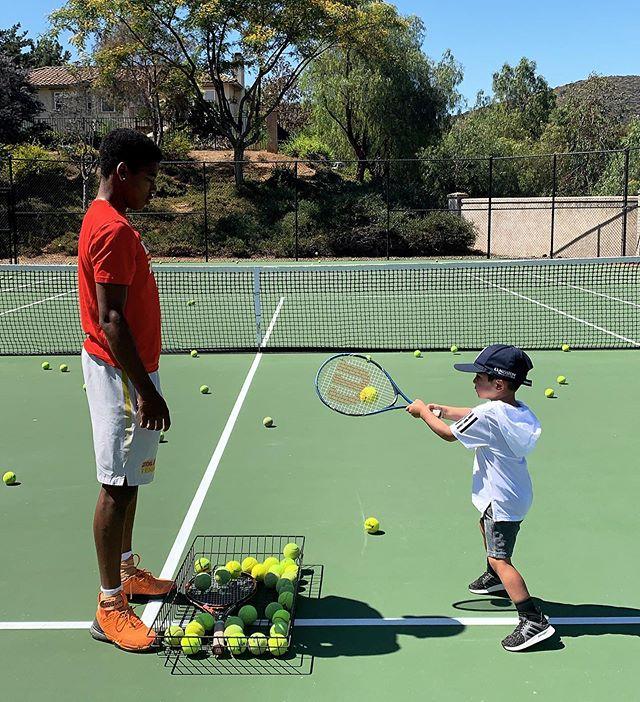 Tennis fun in the sun!!!