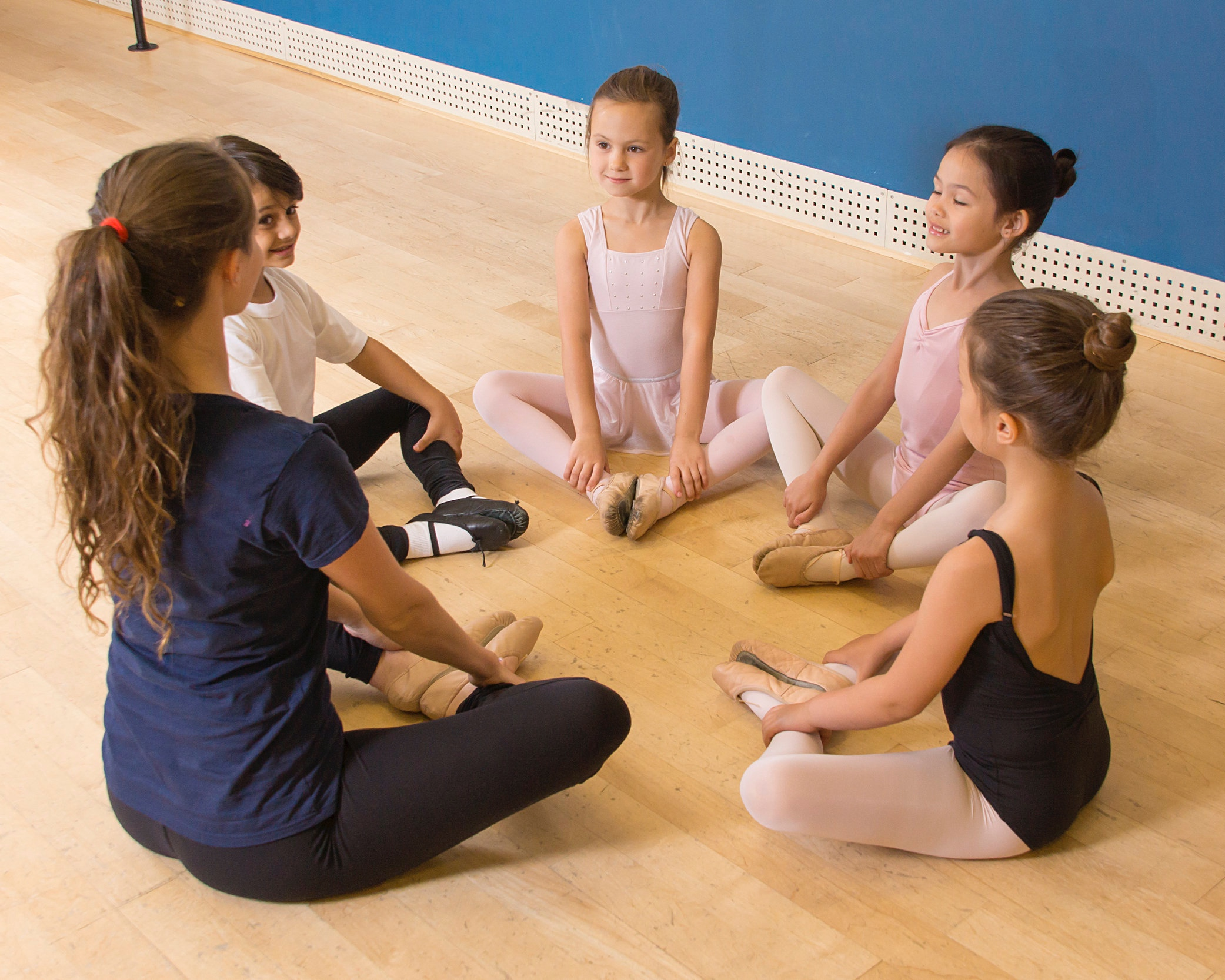CREATIVE MOVEMENT - Students explore movement, rhythm, and creativity through exercises created to build expressive minds and motor skills while instilling a love for dance. For ages 2-3. Must be 2 by September. This is a non-recital class.CREATIVE MOVEMENT CLASS ATTIRE: Comfortable clothing. Barefoot or Ballet shoes required (no socks)