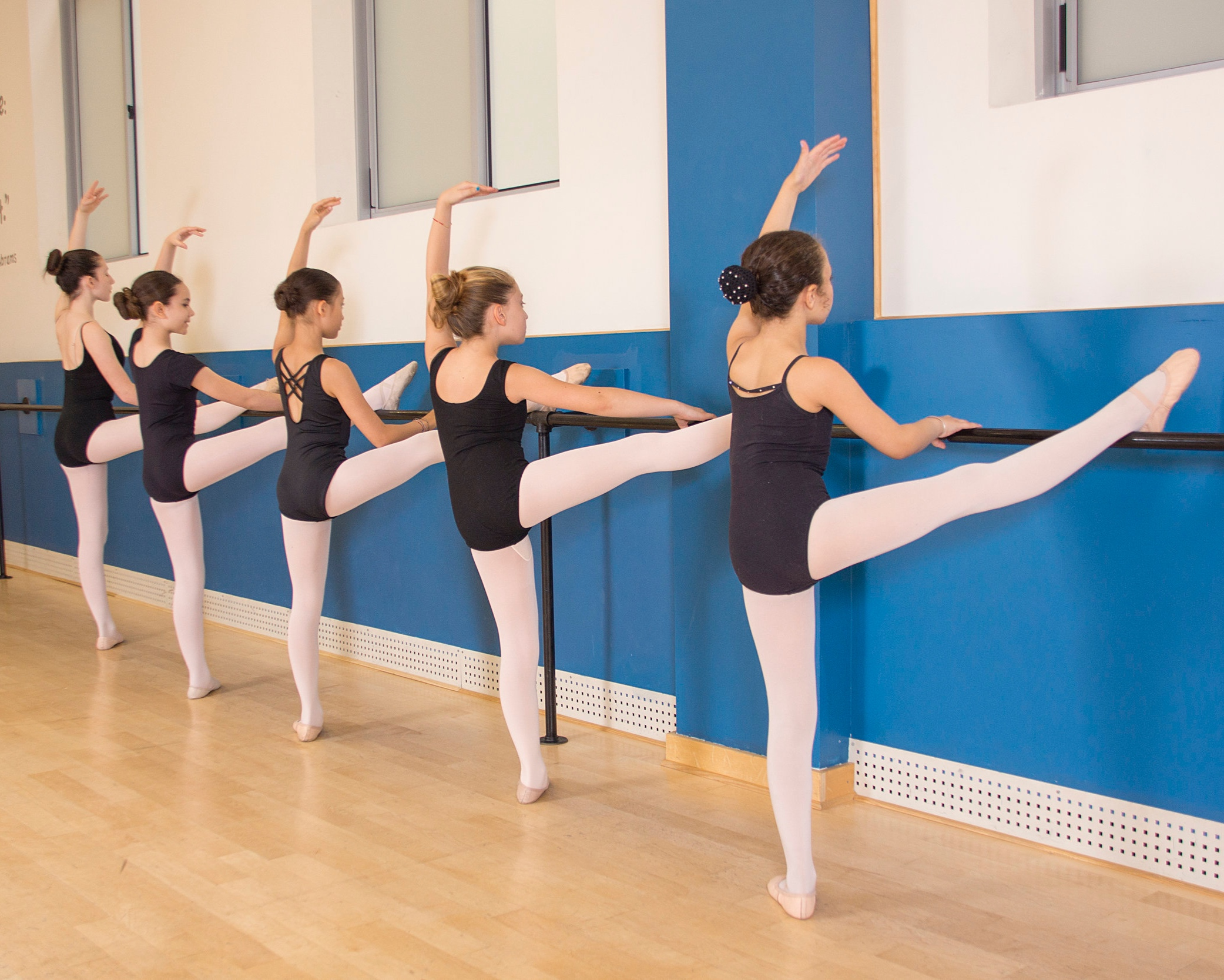 OPEN BALLET - This class will focus on Ballet technique. Twice a week students will go in depth with the technical aspects of Ballet including foundation, specific skills, and dynamics. Open to all levels of dancers ages 7 & up. This class tuition is included as an add on with Ballet 1-4 tuition. This is a non-recital class.OPEN BALLET CLASS ATTIRE : (SAME AS BALLET 1,2,3,4)