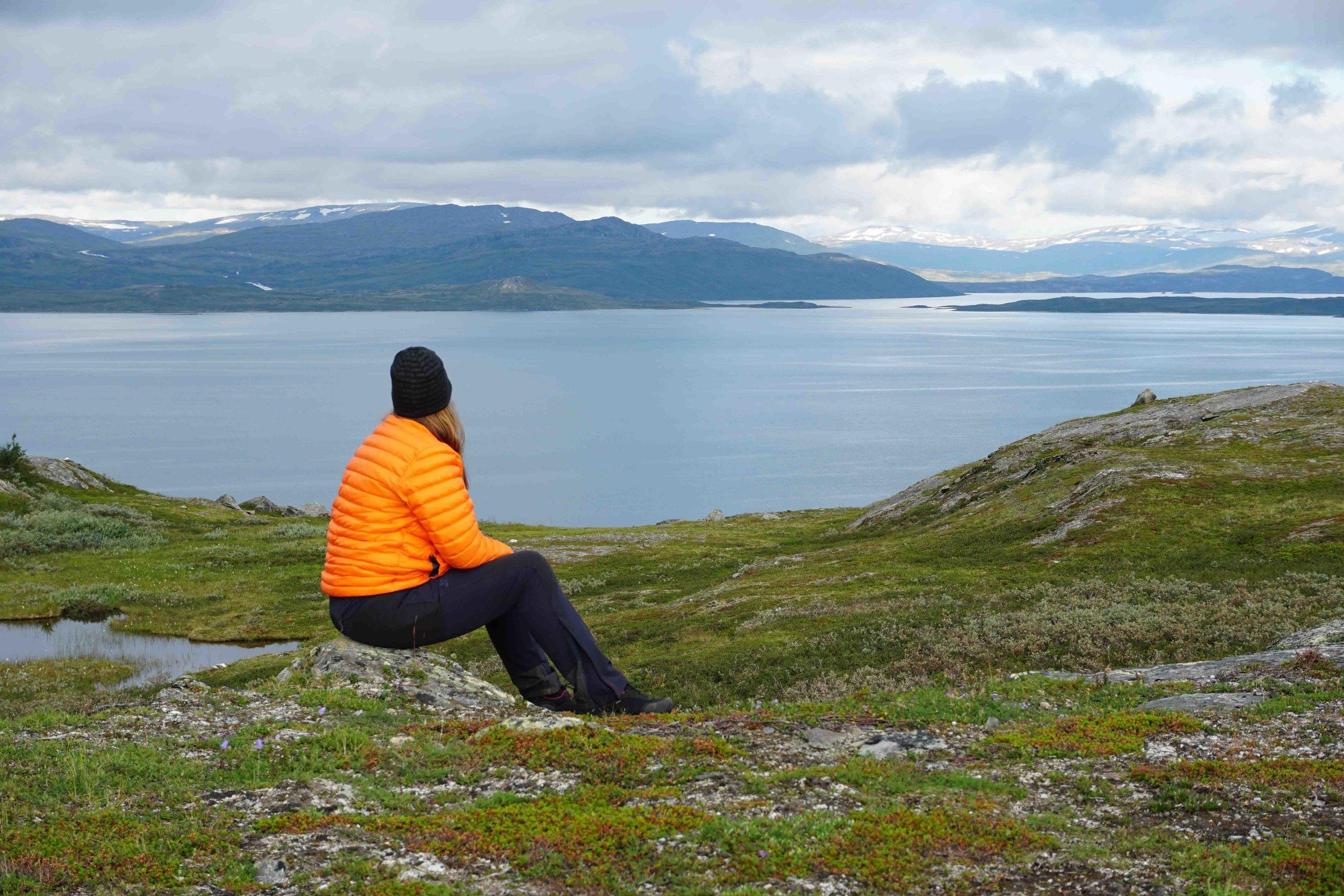 One of the numerous Arctic lakes along the Padjelanta/Badjelannda trail.