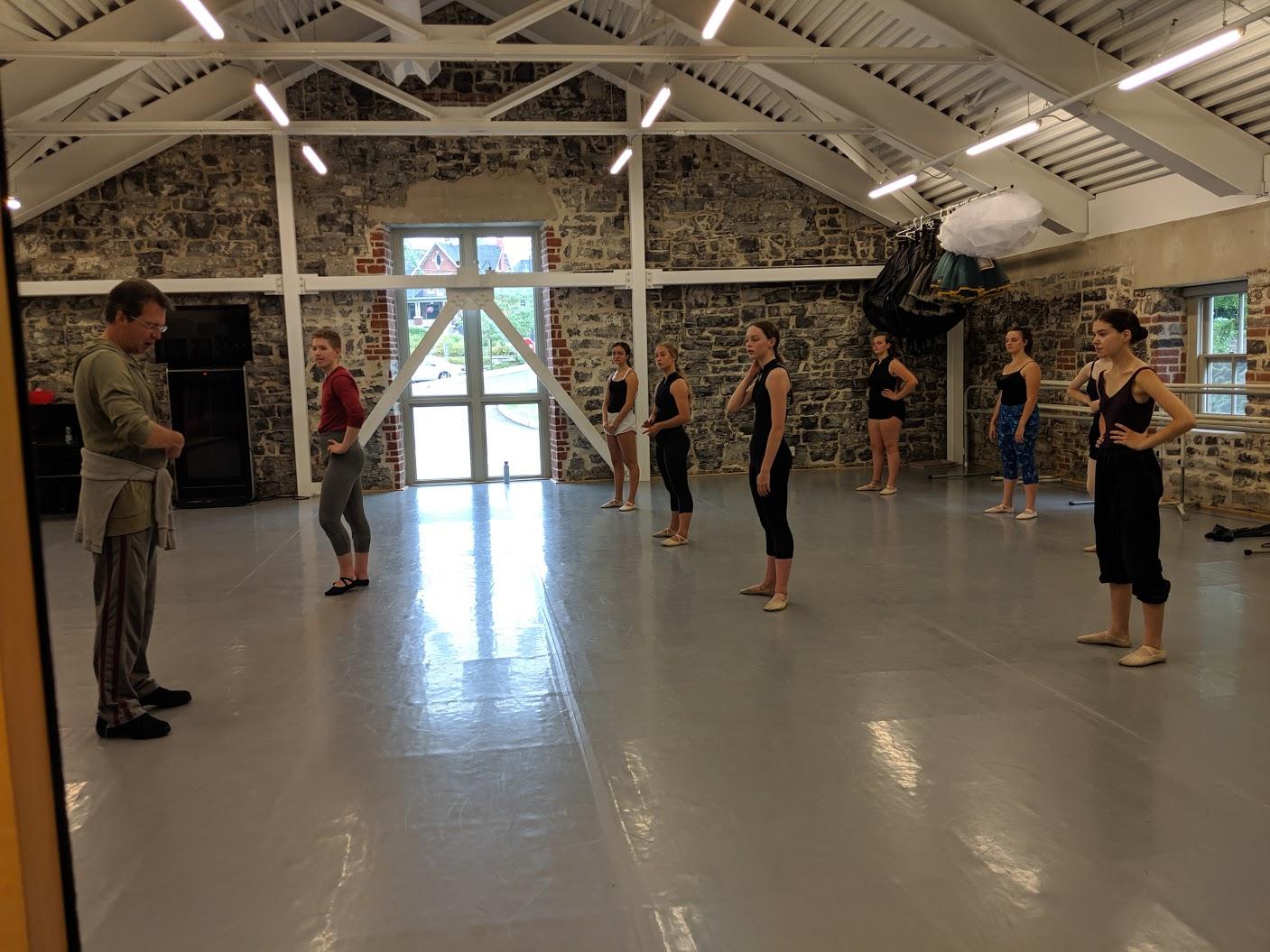 Senior Ballet with Shawn Hounsell Summer Intensive 2019