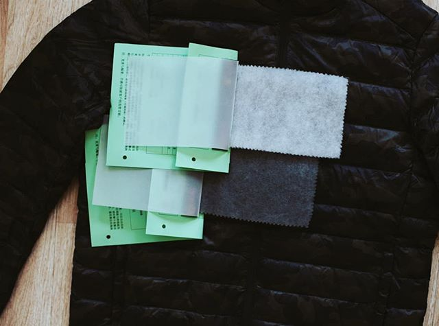 #Behindtheseams as we prepped for our Casual shoot ▪︎Our Thermal and Eco Fill are a great sustainable solution for next season's thermal, quilted, or puffer jackets and coats. Learn more about our fill products via link in bio.  #qst #fashionbrands #fashionmanufacturer #apparelmanufacturer #textiles #textiledesign #textiledesigner