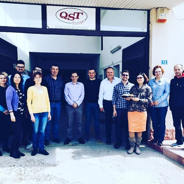 This year we are celebrating #10years for QST Europe. Hard work, dedication, and motivation keeps us going strong.  #qst #anniversary