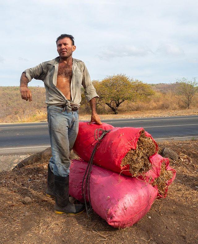 A hard-working farmer tells us where he's been working that morning on the way to Esteli in northern Nicaragua.  .. .. .. .. .. .. .. .. .. .. .. #turissanicaragua #esteli #nica #nicaragua #liveintrepid #getlostnow #passionpassport #travelstoke #moodygrams #huntgram #exploringtheglobe #wildernessculture #watchthisinstagood #agameoftones #fromwhereidrone #visualsoflife #igmasters #lifeofadventure #Roamtheplanet #explorewithfriends #wanderlust #natgeotravelphoto #nationalgeographic #natgeocreative #picoftheday #farmer #yourshotphotographer #global_hotshotz #artofvisuals #fatalframes     
