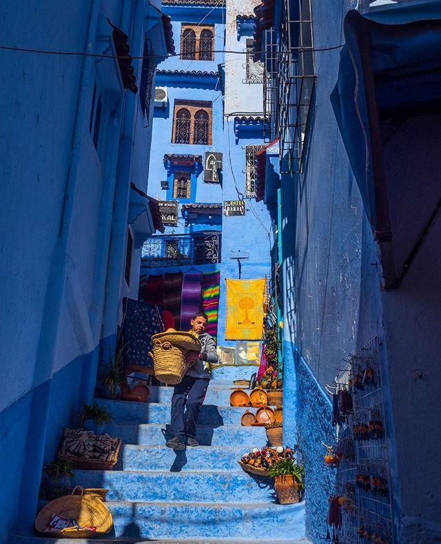 Basket duty in Chefchaouen, Morocco. ...⠀ ...⠀ ...⠀ ...⠀ ...⠀ ...⠀ ...⠀ ...⠀ ...⠀ ...⠀ ...⠀ ...⠀ ...⠀ #chefchaouen #morocco #natgeoyourshot #natgeoyourshot #nationalgeographic #natgeocreative #getlostnow #travelstoke #ourplanetdaily #theglobewanderer #lifeofadventure #lonelyplanet #lonelyplanettraveller #gooutside #igmasters #passionpassport #huffpostgram #natgeotravelphoto # #worldcaptures #yourshotphotographer #beautifuldestinations #global_hotshotz #world_shotz #religion #artofvisuals #moodygrams #fatalframes #traveldeeper #liveintrepid #chefchaouene