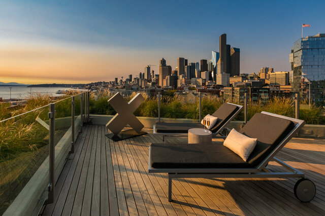 THE FIRST & ONLY - 9 Moderate Income CondosIn A Luxury Seattle Building