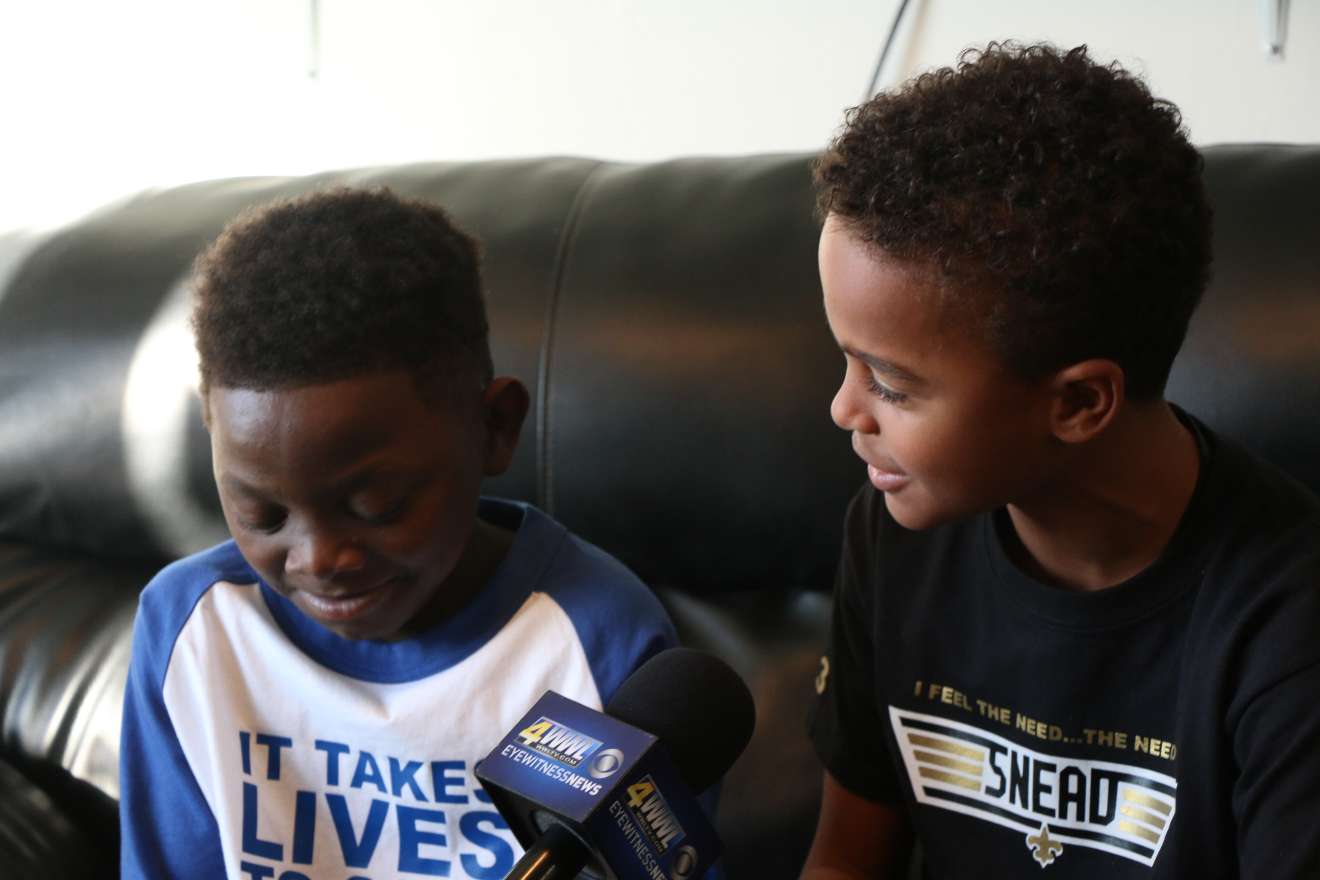 """Jaiden gets his Christmas wish - Jaiden heard of terminally ill Jarrius Robertson and his toy drive and knew exactly what he wanted for Christmas. His mother made contact with Jarrius's family and made the drive to support Jarrius's toy drive giving back to others. """"No better Christmas gift then to help this amazing boy who is still sick, touch the lives of many more"""" Jaiden Henry"""