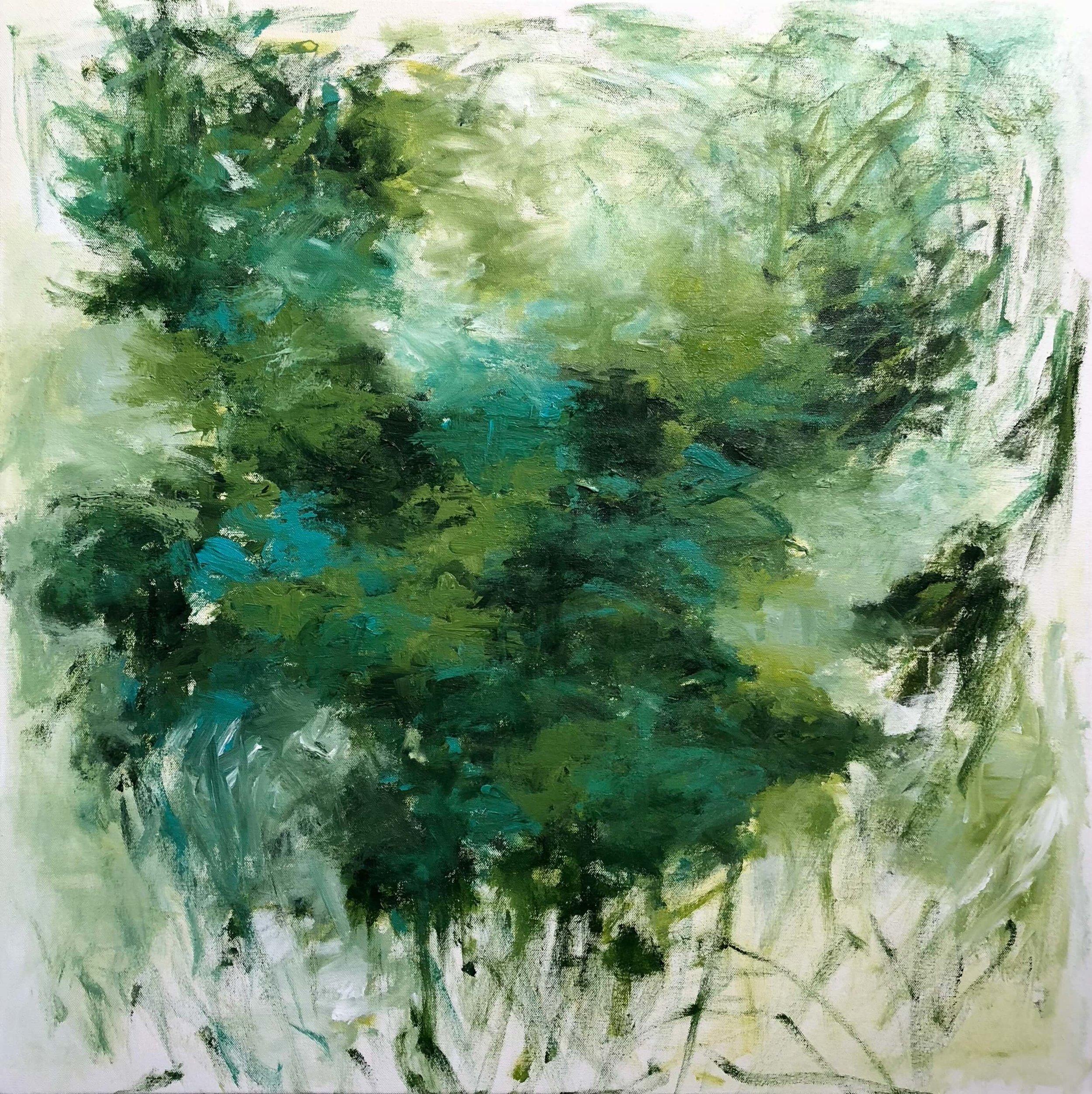 """Honu   30"""" x 30""""  acrylic on canvas"""