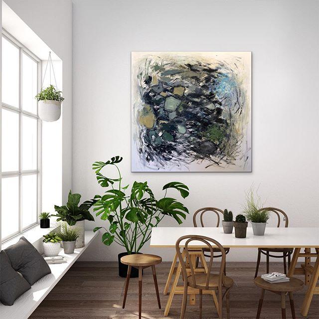 Light, movement, and organic elements are what I am drawn to . . . . . . #abstractart #acrylicpainting #pdx #pdxart #contemporarypainting  #contemporaryart #contemporaryartist #modernart #paintingart #abstractpainting #abstractexpressionism #artlovers #kunstwerk #abstractartist #abstractartorg #emergingartist #pnwartist #portlandartist #expressiveart #todaysartreport #artistlife #artofstream #joanmitchell #artforlife #abstract_buff #womenartists #artiststudio #womanartist #paintingoftheday #abstractartwork
