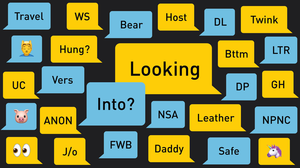 Meanings grindr gaymoji Grindr launches