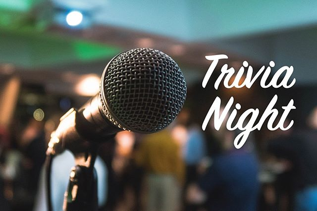 Friends don't let friends do trivia alone. Join us tonight!