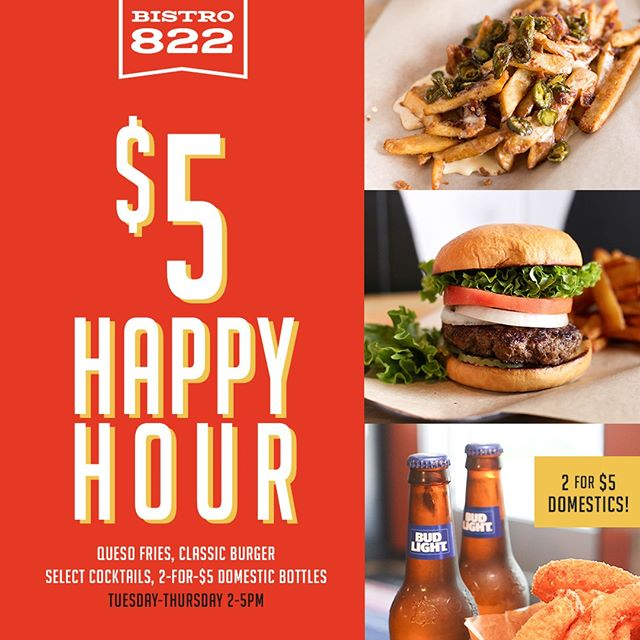 Beat the heat with our happy hour!