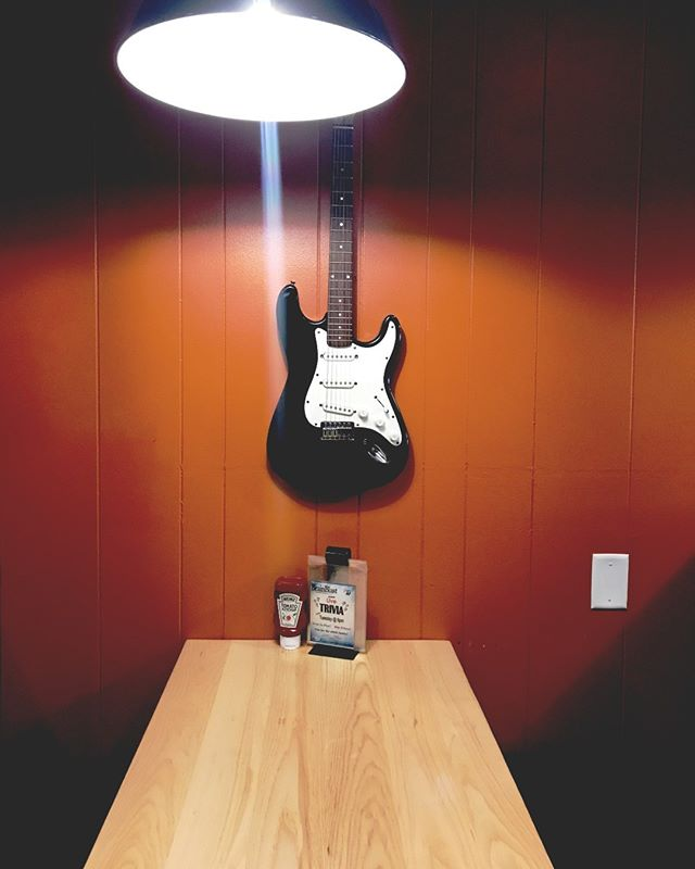 We saved a seat for you! Guitar solo optional.
