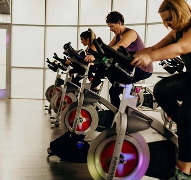 🚴‍♂️ Spin class tomorrow morning at 8:30AM in place of Yoga!