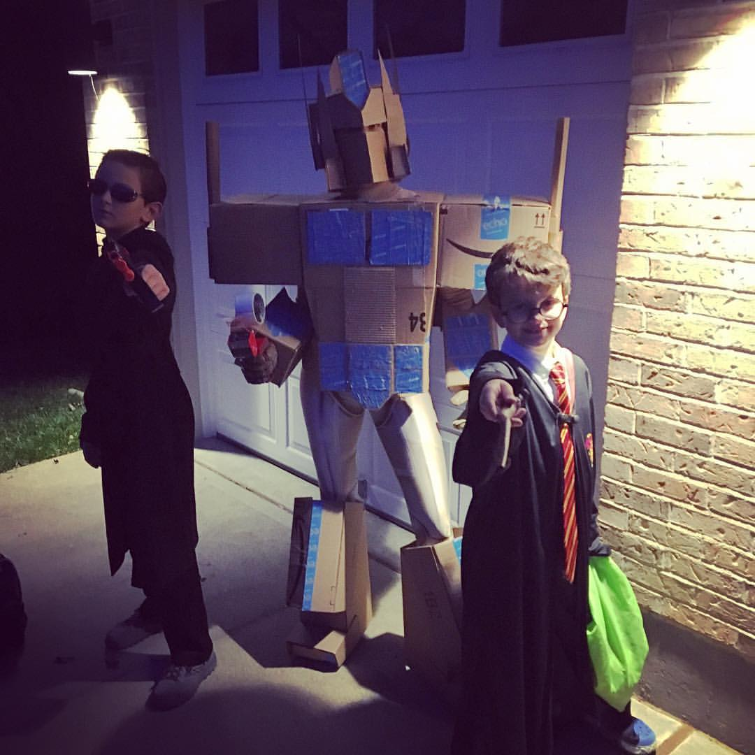 Amazon Prime Halloween Costume that Went Viral
