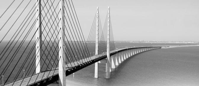 Bridging Studios / Öresund Bridge. Denmark-Sweden