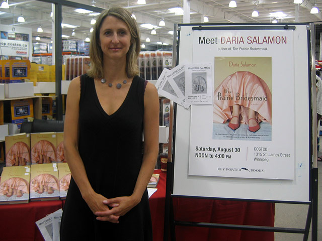 Book signing at CostCo